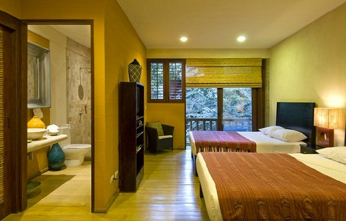 Nicely decorated room