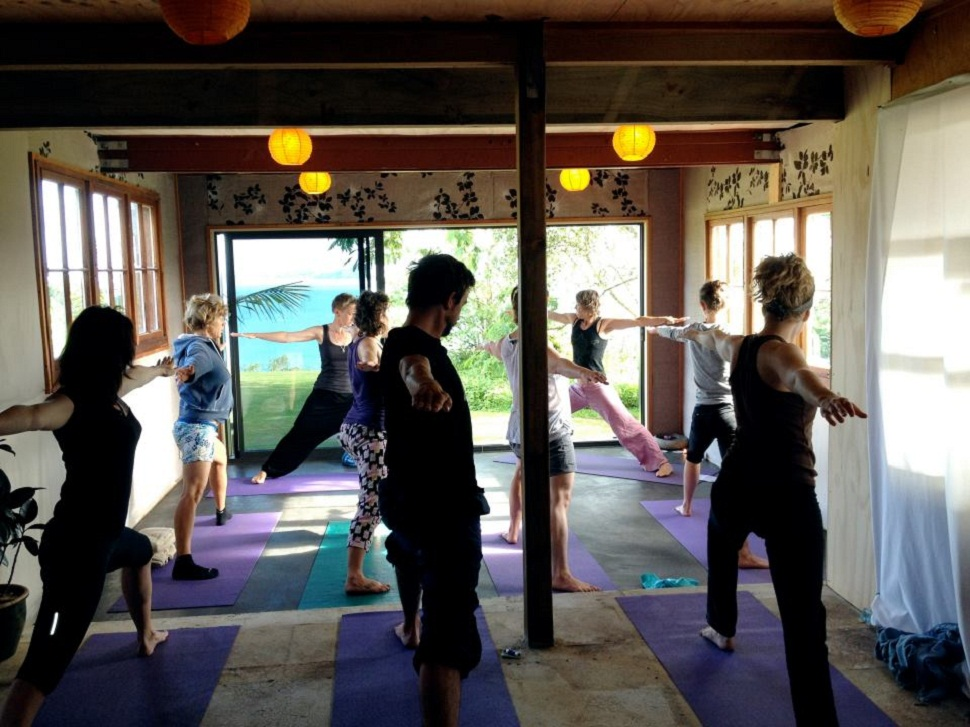 Solscape's first yoga sessions for 2012